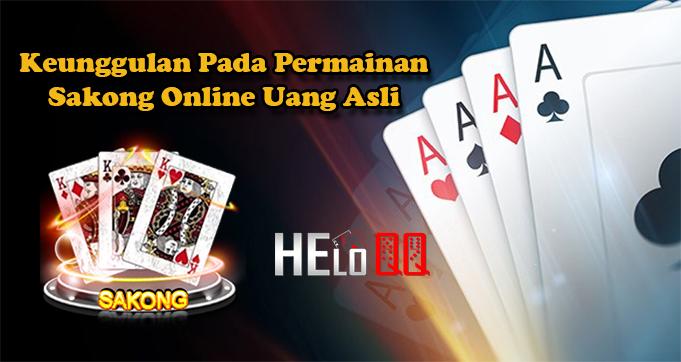 Keunggulan Pada Permainan Sakong Online Uang Asli