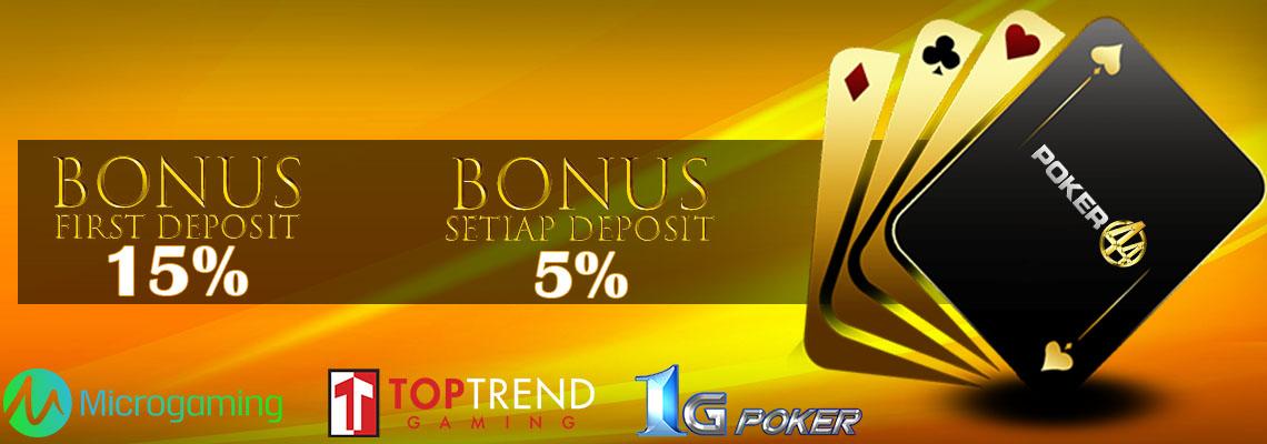 Situs Poker Uang Asli Terbaik