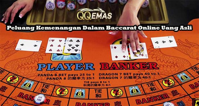 Peluang Kemenangan Dalam Baccarat Online Uang Asli